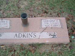 Loraine F. Adkins