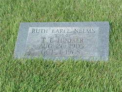 Ruth Earle <i>Nelms</i> Hooker