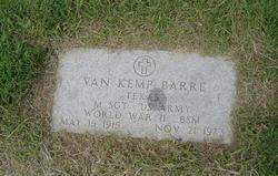 Van Kemp Barre
