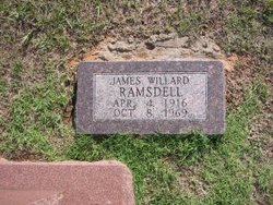 James Willard Ramsdell