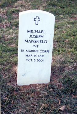 Michael Joseph Mike Mansfield