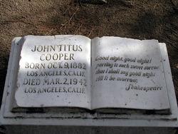 John Titus Cooper