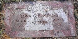 Edna Gertrude <i>Johnson</i> Blaufuss