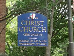 Christ Episcopal Church and Churchyard