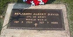 Benjamin Albert David, Sr