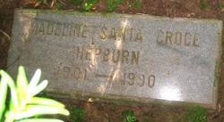 Madeline Santa <i>Croce</i> Hepburn