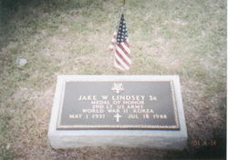 Lieut Jake William Lindsey, Sr