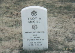 Sgt Troy A. McGill