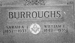 William Theophelus Burroughs