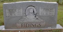 Lottie C. <i>Leach</i> Ridings