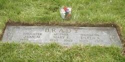 Mary Elizabeth <i>Dier</i> Brady
