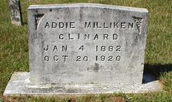 Addie <i>Milliken</i> Clinard