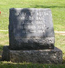Harry S Acton