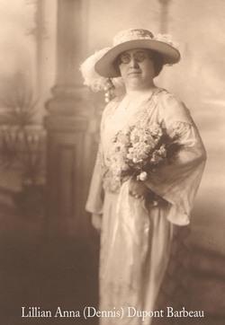 Lillian Anna Birdie <i>Dennis</i> Barbeau