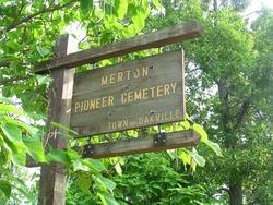 Merton Pioneer Cemetery