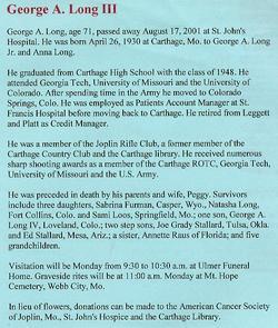 George Anderson Long, III