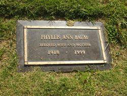 Phyllis Ann <i>Millsap</i> Baum