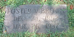 Foster Vincent Brown