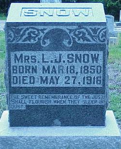 Lurania Josephine <i>Mooney</i> Snow