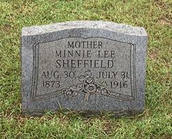 Minnie Lee Sheffield