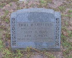 Emma M. Sheffield