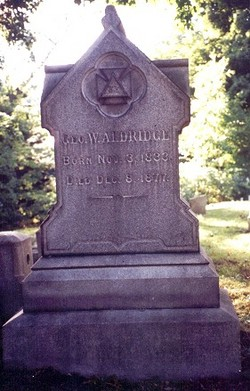 George Washington Aldridge, Sr
