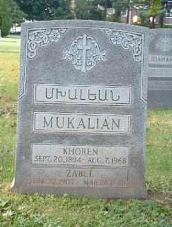 Zabel <i>Der Avedisian</i> Mukalian
