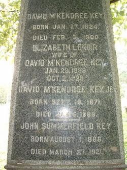 David McKendree Key