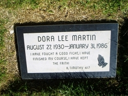 Dora Lee Martin