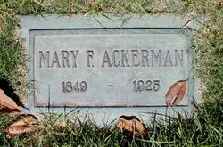 Mary F. Ackerman