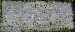Golda Ada <i>Drew</i> Adams