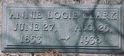 Annie Augusta <i>Logie</i> Clark