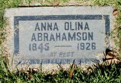 Anna Olina Abrahamson