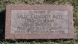 Sally <i>Clements</i> Butt