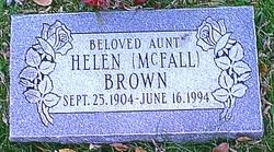 Helen <i>McFall</i> Brown