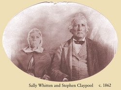 Sarah Charity Sallie <i>Whitten</i> Claypool