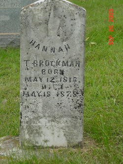 Hannah <i>Conover</i> Brockman