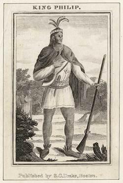 King Phillip Metacomet