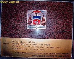 Cardinal Louis-Nazaire B�gin