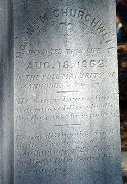 William Montgomery Churchwell