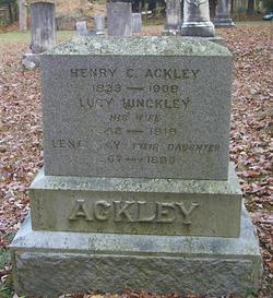 Lucy Lauretta <i>Hinckley</i> Ackley
