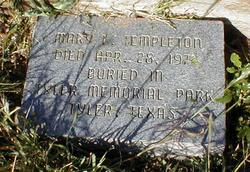 Mary Leah <i>Johnston</i> Templeton