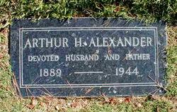 Arthur Harold Alexander