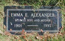 Emma E. <i>Slagle</i> Alexander