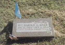 Harold G. Kiner
