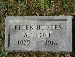 Ellen <i>Hughes</i> Althoff