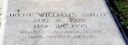 Irene <i>Williams</i> Smith
