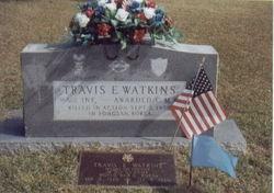 Sgt Travis Earl Watkins