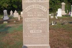 Mary E. <i>DeWolf</i> Ashley