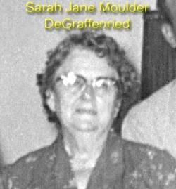 Sarah Jane <i>Moulder</i> DeGraffenreid